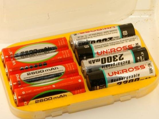 Staré batérie