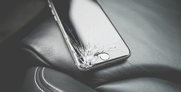 Rozbitý telefón