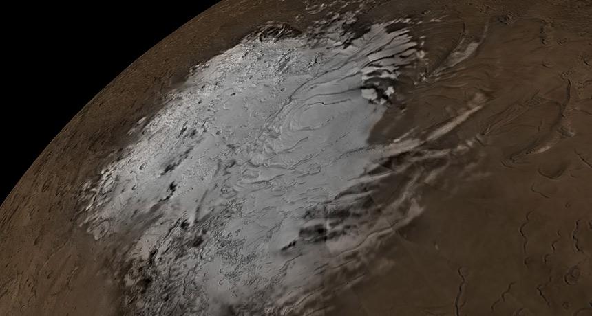 Voda na Marse