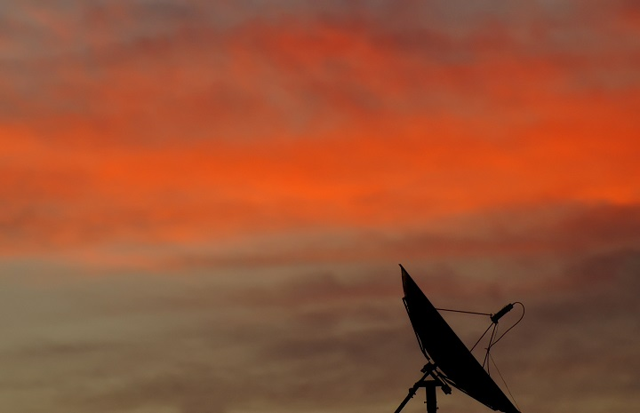 Nastavenie satelitu