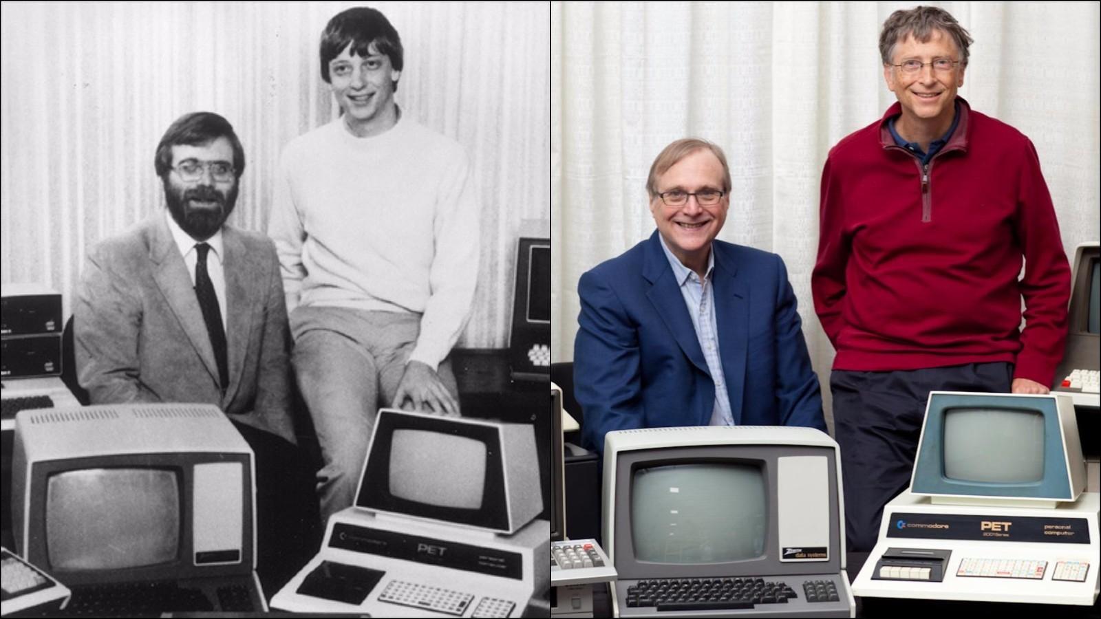 Paul Allen a Bill Gates