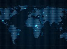Digitálna mapa sveta